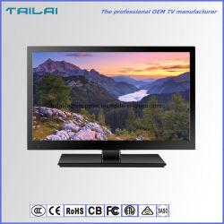 """Cadre étroit de l'écran large 15,6"""" 16 : 9 DVB-T TV LED à faible puissance"""