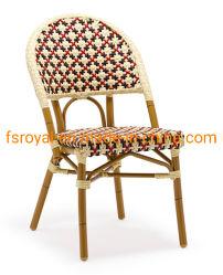 쌓을수 있는 대나무 보는 의자를 위한 고리 버들 세공 등나무 가구