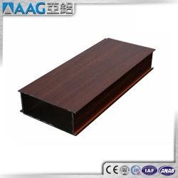 Profil de bois en aluminium profilé aluminium finition bois Le bois de profil