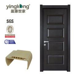 Madera impermeable Interior compuesto de PVC/ABS/WPC puerta con marco