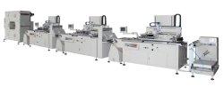 Mehrfarbenserien-Rolle der maschinen-HYD56, zum des Bildschirm-Drucken-Maschinen-Bildschirm-Drucken-Maschinen-Kopierpapiers, Verpackungs-Kennsatz-packender Silk Bildschirm-Drucker zu rollen