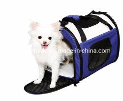 اكسفورد حاملة الحيوانات الأليفة القط يتطهير حقائب اليد الكلب حمل كتف السفر حقيبة