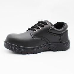 Китай дешево хорошие цены обувь с черными кожаными работы мужчин высокого каблука стальным носком промышленных название торговой марки