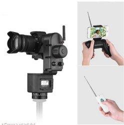 Testa panoramica del treppiedi motorizzata inclinazione elettronica senza fili della vaschetta di telecomando di Yt-3000 50m per la video fucilazione della macchina fotografica