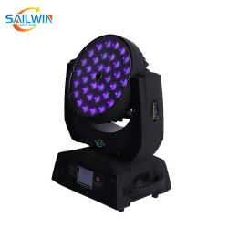 ضوء غسل رأس متحرك LED رباعي 36*10 واط 4in1 RGBW