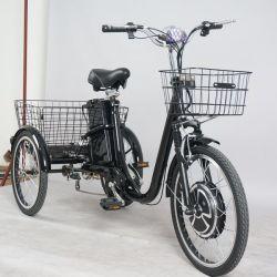 48V10ah Volwassenen Met drie wielen van de Lading Trike van de Batterij van het lithium de Elektrische Elektrische