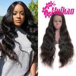 Наиболее востребованных в полной мере кружева человеческого волоса Wig 9A Virgin Бразильский орган человеческого волоса Glueless кривой кружева с ребенком Wig волос