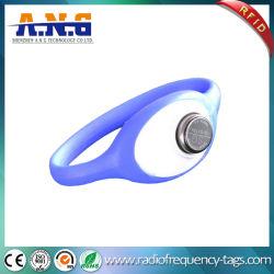 Waterdichte Manchet Ds1990A-F5/Armband met de Ketting van de Houder van de Hand van het Silicone