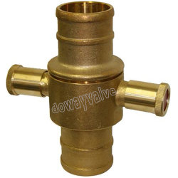 Die Casting Brass Fire Hydrant Slangkoppeling