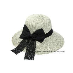 Nuovo cappello della fedora del feltro delle donne di Bowknot di modo