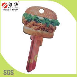 Fabbrica Price Wholesale Sales Custom Groovy variopinto Key Blank per Gifts