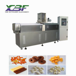 Le snack-extrudeuse à double vis/snack/bouffée d'extrudeuse alimentaire Le maïs en provenance de Chine usine de la machine de l'extrudeuse