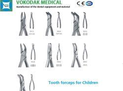 Зуб Forceps Forceps стоматологические услуги для детей с маркировкой CE