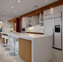 Le mobilier du panneau de porte de la membrane en PVC Manufacturere MFC Cuisine du Cabinet