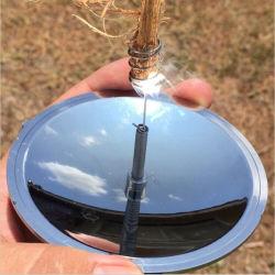 Kits de emergência para viagens Camping caminhadas ao ar livre de Incêndio de sobrevivência tem proteção contra incêndio Acendedor de vela Solar de arranque