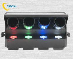 Pl-83 amerikanisches DJ Zipper 4-Head Quad RGBW Barrel Mirrored Roller Scanner Effect Light
