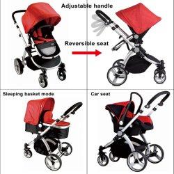 En1888 3 multifunzionali in 1 passeggiatore del bambino del sistema di corsa con il bambino Carrycot