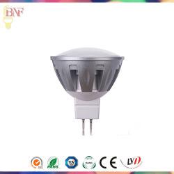 MR16 en aluminium de haute puissance avec Spotlight LED 1 W/3W/5 W/7W avec ampoule de l'Énergie de l'enregistrement