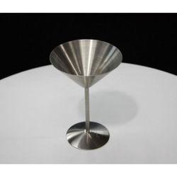 Fournisseur d'usine de verre à cocktail en acier inoxydable