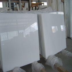 رخيصة يصقل رخام صاف بيضاء لأنّ [فلوورينغ تيل]/جدار قرميد