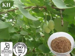 Le Ginkgo flavone glycosides 24 % par HPLC; des lactones terpéniques 6 % par HPLC; acide Ginkgolic 5 % par HPLC pour l'extrait de Ginkgo biloba