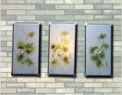 Het met de hand gemaakte het Schilderen van de Bloem van de Olie Olieverfschilderij van het Landschap voor Decor