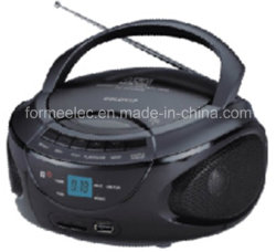 CD MP3 portable Boombox avec radio FM SD USB