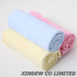 極度の柔らかく、通気性のタケ赤ん坊のWashcloth/浴室タオル