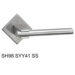 스테인리스 스틸 빈 튜브 레버 도어 핸들(SH98SYY41 SS)