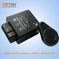 OBD2 GPS Tracker автомобильной сигнализации для автомобиля& погрузчика с помощью RFID без ключа и Bluetooth (ТК228-KH)