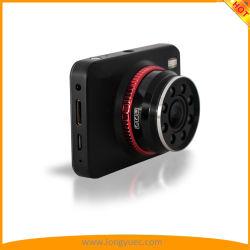 La versión de la noche super Dash coche DVR cámara con el funcionamiento de las teclas táctiles