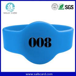 Banda Da Polso Blu Stile Orologio Per La Stampa Con Logo Rfid