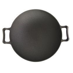 キャンプするか、またはキットのための鋳鉄の中国の中華なべをかき混ぜ揚げなさい