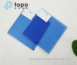 6мм-10мм A1 темно-синий оптовая торговля мебелью синего выравнивания листов стекла (C-dB)