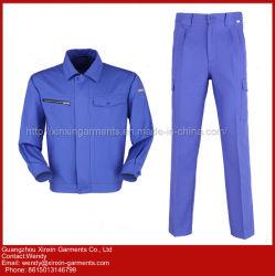 Tuta poco costosa su ordinazione del Workwear della fabbrica per le uniformi di usura del lavoro industriale (W315)