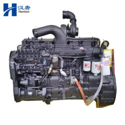 Motor diesel industrial Cummins 6CTAA8.3-C para máquinas de construção