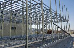 Pisos de dupla estrutura de aço Prefab House / Trabalhador móvel House