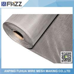 Recubierto de plata y malla de alambre de aluminio recubierto de PVC