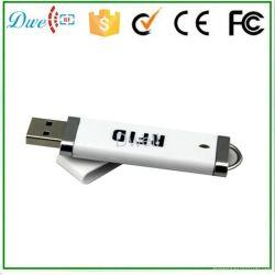 USB de MiniLezer RFID van de Interface 125kHz voor het Lezen van de Eerste 10 Cijfers van Kaart Tk4100