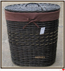 Willow Wicker lavandaria para equipamento de cestaria