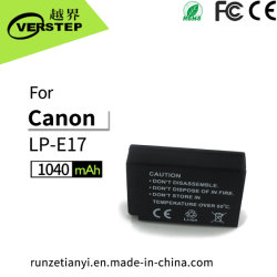 Nuova batteria della macchina fotografica di decodifica Digital per il supporto EOS-M3/750d/760d di Canon Lp-E17