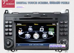 Тв приемник для Mercedes Benz A160 A180 B200 Viano Вито спринтер аудиосистемы с блоком навигации GPS