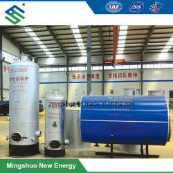 Caldera de biogás para la calefacción de agua en el proyecto de cogeneración