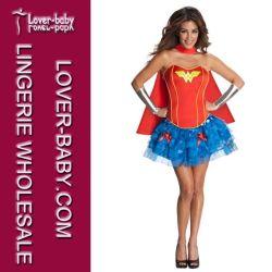 Sexy Femme me demande Supergirl costume de Super héros (L15235)
