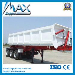 360 tonnes d'essieu remorque Benne basculante bennage de la remorque du tracteur pour la vente