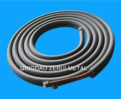 Isolierklimaanlagen-Kupfer-Rohr mit gewundenem flexiblem auf beiden Gefäßen