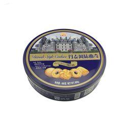 Vente à chaud de qualité alimentaire Biscuit d'emballage ronde Cookie boîte