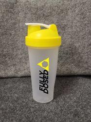600ml de plastic Eiwit Vrije Fles van de Schudbeker, BPA & de Vrije, Aangepaste Kleur Dehp & Druk van het Embleem