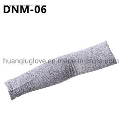 Il lavoro di funzionamento protettivo di resistenza del taglio dei 13 del calibro di Hppe di Anti-Taglio manicotti di sicurezza sul lavoro collega i guanti con un manicotto della mano