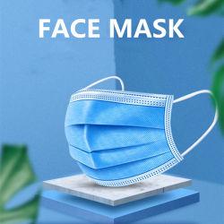 Masker 3 Vouw van SGS Koreaanse Australische 50 Bfe>99 van Japan van 3D Beschikbare van het Gezicht niet van de Bescherming Qoven AntiStukken Productie Van uitstekende kwaliteit van Fave Turkije Vlakke Bulk